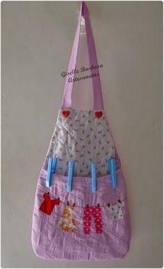 Giselle Barbosa Artesanatos: Porta pregador/prendedor de roupa em tecido Flores...                                                                                                                                                      Mais