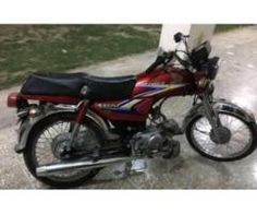 Honda Cd 70 Red Color In Excellent Condition New Tyres For Sale In Sahiwal