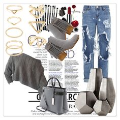 """""""Untitled #11"""" by bunnyqueen-sassybee ❤ liked on Polyvore featuring Forever 21, One Teaspoon, Michael Kors, Revolution, Clinique, Cyan Design and Bobbi Brown Cosmetics"""