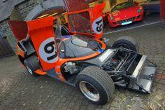 Chevron Race Car