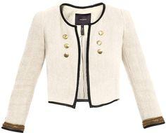 Isabel Marant - Abies Cropped Jacket in Beige (cream)