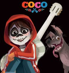 Miguel and Dante from Pixar's Coco (2017)
