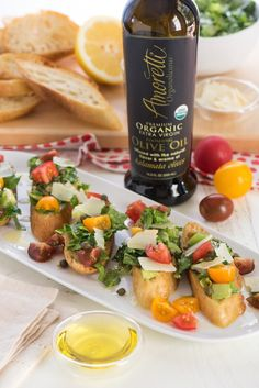 Bruschetta's & Crostini's on Pinterest | Bruschetta, Goat Cheese ...