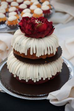 Nothing Bundt Cake. Yum! Weddings by Image Three.  www.imagethreeevents.com