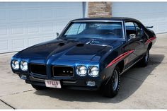 Dark Blue 1970 GTO Judge