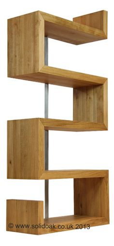 Texas 'S' shelf - left or right handed in solid oiled oak. http://www.solidoak.co.uk/half-price-clearance/set-of-6-pierson-45913-chairs-less-than-half-price/d111761