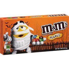 M&M's Halloween Peanut Chocolate Candies, 3.4 oz Walmart