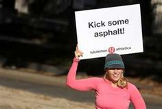Image Search Results for lululemon marathon signs
