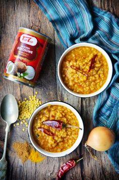 Tao Tao - Dahl z mleczkiem kokosowym TaoTao - orientalne przepisy kulinarne Tao Tao, Dahl, Chana Masala, Curry, Ethnic Recipes, Food, Kalay, Curries, Meals