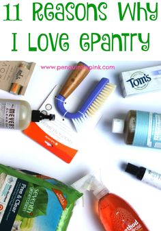 Tried ePantry? You Should! - An ePantry review with eleven reason why I love them and think you will too. In this ePantry review you will see how using ePantry has simplified my life.