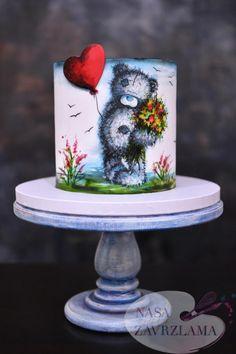 Tatty Teddy Bear cake by Nasa Mala Zavrzlama