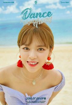 TWICE's Momo, Nayeon, and Jungyeon enjoy a beach day in more 'Dance the Night Away' teaser images Suwon, Nayeon, K Pop, Kpop Girl Groups, Korean Girl Groups, Kpop Girls, Twice Jungyeon, Twice Kpop, Twice Album