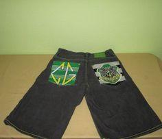 Men's COOGI AUSTRALIA   Denim Shorts  Sz 32 X 15 - Black #COOGI #Denim