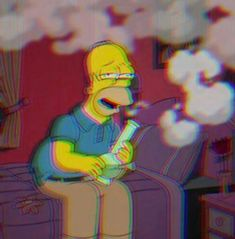 Simpson Wallpaper Iphone, Trippy Wallpaper, Mood Wallpaper, Aesthetic Iphone Wallpaper, Cartoon Wallpaper, Trippy Cartoon, Cartoon Art, Animes Wallpapers, Cute Wallpapers