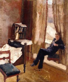 Peter Andreas Reading - Edvard Munch (1882-1883) Private collection - oil on board