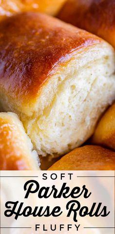 Soft Yeast Rolls Recipe, Fluffy Roll Recipe, Potato Rolls Recipe, Parker House Rolls, Breakfast Pie, Instant Potatoes, Holiday Desserts, Holiday Baking, Dessert Bread