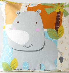 Doomagic Animal Pillow Case : Children bedding doomagic lovely embroidered pillow case doomagic classical pillowcase cartoon ...