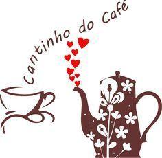 adesivo parede cozinha cantinho do café xícara coração Retro Cafe, Vintage Cafe, Coffee Icon, Coffee Cafe, Decoupage, Love Cafe, Cafe Bistro, Coffee Photography, Craft Gifts