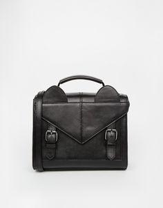 ASOS Satchel Bag with Ear Detail