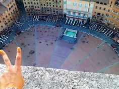View from Torre del Mangia_Piazza del campo_Toscany_Italy_photobyme