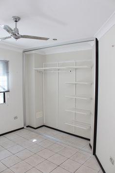 Small Master Closet, Closet Storage Bins, Elfa Shelving, Convertible Furniture, Wardrobe Closet, House Goals, Organising, Mudroom, Space Saving