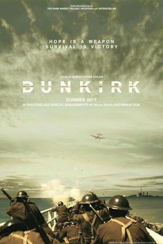 """#MOVIE: Second official poster of the film """"Dunkirk"""