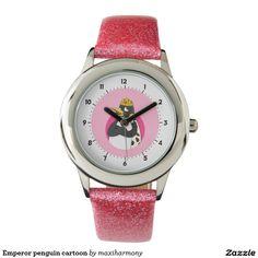 Emperor penguin cartoon watch