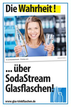 Was über SodaStream Glasflaschen wissen solltest... Zero, Sustainable Gifts, Water Bottle
