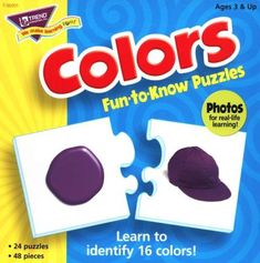Colors Fun-to-Know Puzzle - Christianbook.com Life Learning, Learning Skills, Preschool Learning, Early Learning, Color Puzzle, Teaching Colors, Academic Success, Back To School Shopping, Custom Business Cards