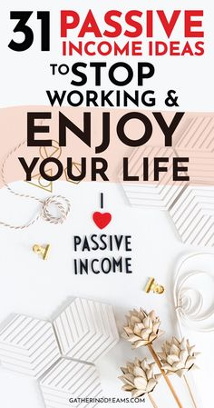 31 Passive Income Ideas for Beginners: in this post, I talk about 31 passive income ideas for beginners. Plus I share all the passive income streams I used to become financially free and quit my job! Money Saving Tips, Money Tips, Money Hacks, Passive Income Ideas, Streams of Income, Passive Income Streams, Make Money Online, Side Hustle #passiveincome #financialfreedom #makemoney Passive Income Streams, Creating Passive Income, Creating Wealth, Make Easy Money, Way To Make Money, How To Make, Earn Money From Home, Make Money Online, Money Tips