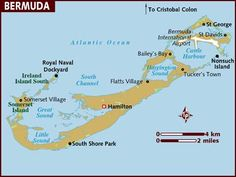 Location Of British Overseas Territories MAPS Pinterest - Bermuda in relation to us map