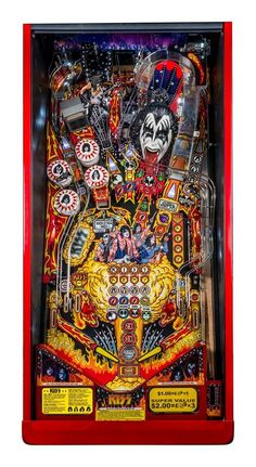 Stern Pinball, Inc., the world's oldest and largest producer of arcade-quality pinball machines, and Epic Rights, KISS' global licensing agent, jointly announced today the availability of a new lin...