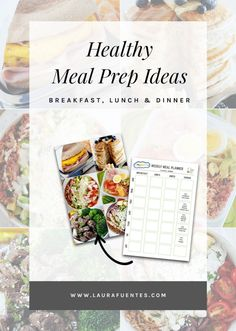 Easy meal prep ideas for the week and everything you need to know about healthy meal prep to make it simple and achievable! #mealprep #mealprepideas #mealpreprecipes Easy Meal Prep, Healthy Meal Prep, Easy Meals, Healthy Dinner Recipes, Real Food Recipes, Meal Prep For Beginners, Weekly Meal Planner, Gluten Free Dinner, Meal Prep For The Week