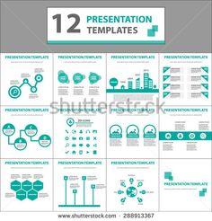 Eco Green multipurpose presentation template flyer brochure design powerpoint set