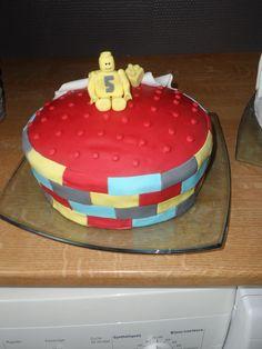 gâteau thème LEGO pour l'anniversaire de mon grand