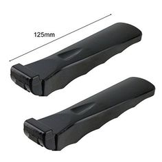 Spares2go Moulded Grip Detachable Handle For Rangemaster Oven Cooker Grill Pan Pack of 2 *** You can find more details by visiting the image link.