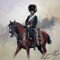 """Chasseur à Cheval"", Augusto Ferrer Dalmau"