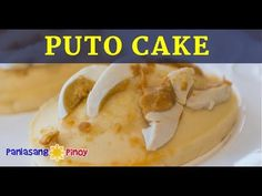 Here is a recipe for puto cake. It might sound new to you, so let me explain what to expect. If you are familiar with puto (which is a type of Filipino small rice cake), this is a bigger and softer version of it. Filipino Desserts, Filipino Food, Filipino Recipes, Putong Bigas Recipe, Panlasang Pinoy Recipe, Speedy Recipes, Cake Writing, Cake Youtube, Baking And Pastry