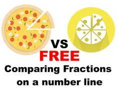 FREE Comparing Fractions on a number line