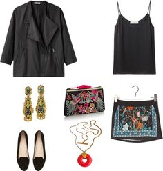 """ORIENTAL THINGS IN TOWN"" by irina-gornostaeva ❤ liked on Polyvore"