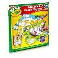 Set of 3 magnetic washable sheets for colouring Encourages fine motor skills, self-esteem, creativity A fun way to create memories and display creativity Sheets feature 3 themes - Sky, Meadow, Sea Life Pop out centers, create unique picture frames Age 3+ www.kidswoodentoyshop.co.uk