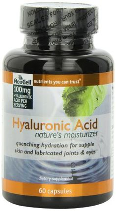 Neocell Hyaluronic Acid From Rooster Comb, 100 Mg, 60 Count Neocell,http://www.amazon.com/dp/B000QS10LY/ref=cm_sw_r_pi_dp_Gcsjtb19CH2SVSH8