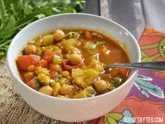 Moroccan Lentil and
