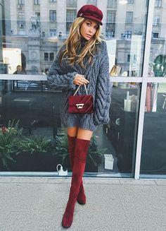 Knit dress @skitzyou