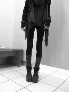 Nice shoes, thin Girl