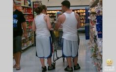and the cutest couple award goes to ... not them #EpicFunny #Humor #PeopleOfWalmart