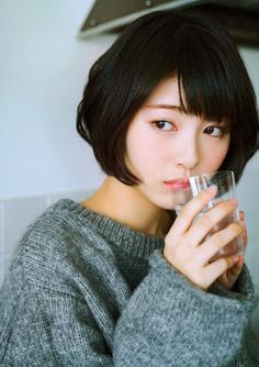 Jan this pin was discovered by 劉 邦晏. discover (and save! Beautiful Japanese Girl, Japanese Beauty, Beautiful Asian Women, Asian Beauty, Cute Asian Girls, Cute Girls, Prity Girl, Asian Short Hair, Attractive Girls