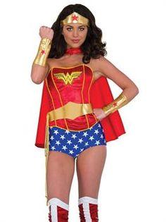 Wonder Woman 3pc Dress Cape Costume Headband NEW Justice League Girls Size 2t 3t