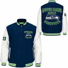 Seattle Seahawks Russell Wilson Super Bowl XLVIII Champions ...