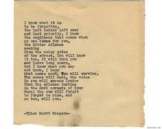 Typewriter Series #1257 by Tyler Knott Gregson*All The Words Are Yours, is available for Pre-Sale through Amazon, Barnes and Noble, IndieBound , Books-A-Million , or iBookstore! *